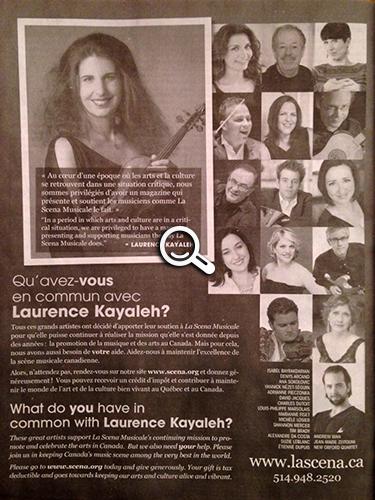 Les Ambassadeurs - magazine La Scena Musicale