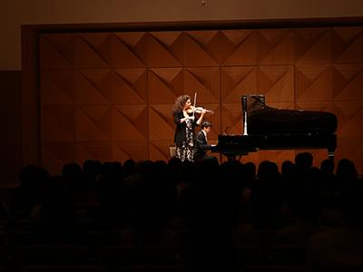 Laurence Kayaleh, violin & Yusuke Kikuchi, piano - JT Art Hall, Tokyo