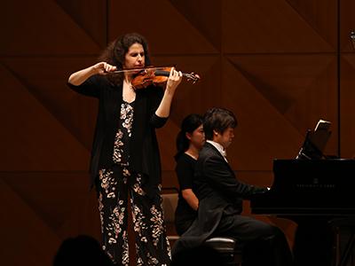 Laurence Kayaleh, violon & Yusuke Kikuchi, piano - JT Art Hall, Tokyo