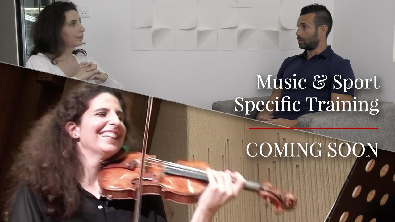 Laurence Kayaleh - Music & Sport Specific Training - Trailer