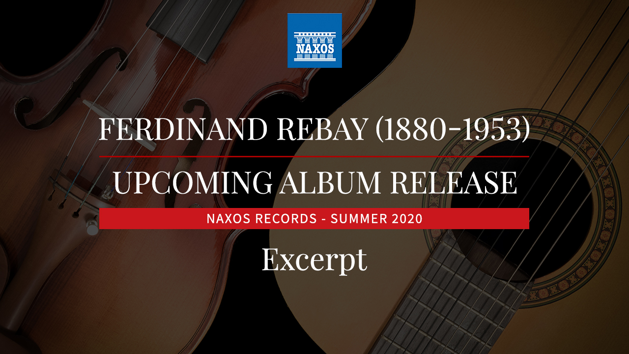 Upcoming Recording - F. Rebay