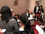 Récital à Tokyo, Japon - La violoniste Laurence Kayaleh avec le pianiste Yusuke Kikuchi
