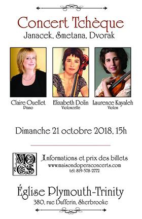 Musique tchèque - Kayaleh-Dolin-Ouellet