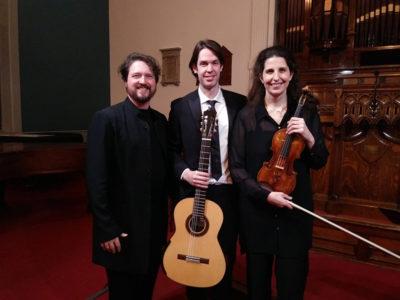 Laurence Kayaleh & Michael Kolk - Maison d'Opéra et de Concerts de Sherbrooke, Canada (Plymouth-Trinity Church. Crédit photo : Pier Carlo Liva.