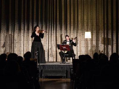 Laurence Kayaleh & Michael Kolk - Fairmont Le Montreux Palace, Suisse (Salle des Congrès). Crédit photo : Joao Cardoso.