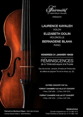 Laurence Kayaleh - REMINISCENCES de la Tchécoslovaquie à la Russie - Tickets are now available !
