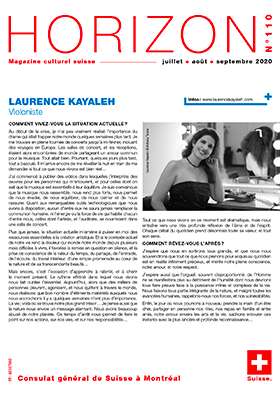 Horizon Magazine - Laurence Kayaleh