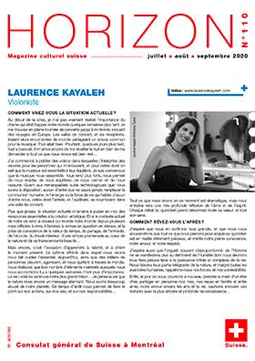Horizon Magazine - Laurence Kayaleh