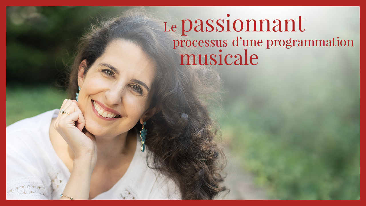 Laurence Kayaleh - Le passionnant processus d'une programmation musicale