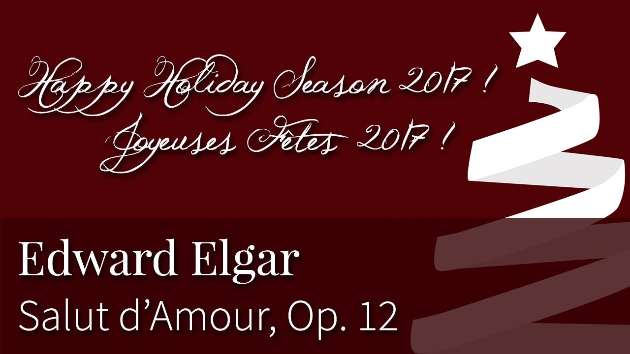 Laurence Kayaleh   Edward Elgar - Salut d'Amour, Op, 12