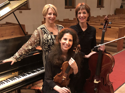 Laurence Kayaleh (violin), Elizabeth Dolin (cello), Claire Ouellet (piano). Czech Music