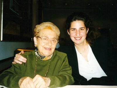 Laurence Kayaleh with Alicia de Larrocha