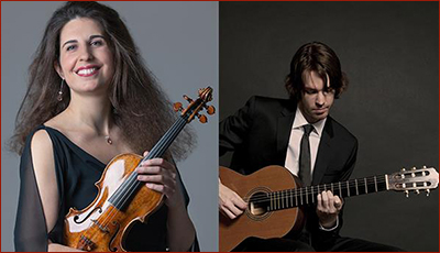 Laurence Kayaleh (violin) & Michael Kolk (guitar)