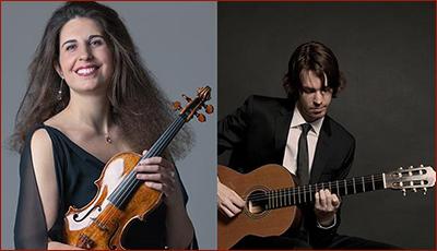 Laurence Kayaleh (violin) & Michael Kolk (guitar)